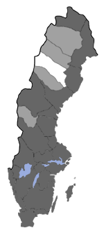 Distribution map - Acleris emargana
