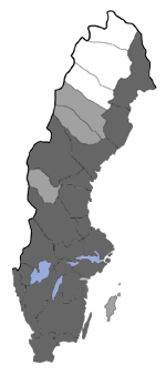 Distribution map - Acleris hastiana