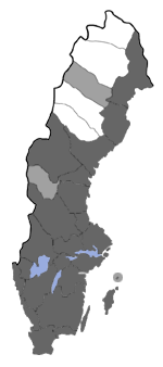 Distribution map - Acleris laterana