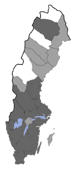 Distribution map - Acleris nigrilineana