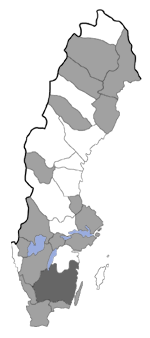 Distribution map - Atemelia torquatella