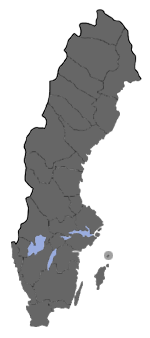 Distribution map - Celypha lacunana