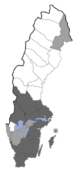 Distribution map - Celypha rosaceana