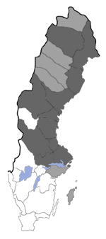 Distribution map - Coenocalpe lapidata