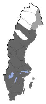 Distribution map - Coenophila subrosea