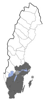 Distribution map - Comibaena bajularia