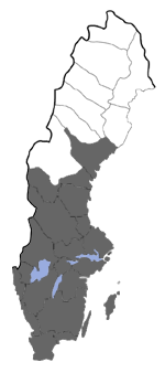 Distribution map - Diaphora mendica
