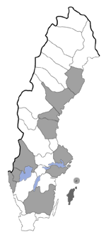 Distribution map - Ectoedemia albibimaculella