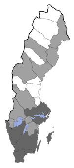 Distribution map - Endrosis sarcitrella