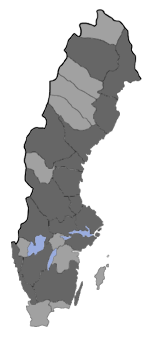 Distribution map - Epinotia crenana