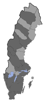 Distribution map - Epinotia tetraquetrana