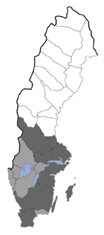 Distribution map - Eucosma conterminana