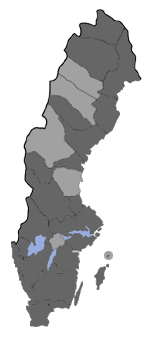 Distribution map - Eudonia murana