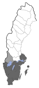 Distribution map - Eugnorisma glareosa