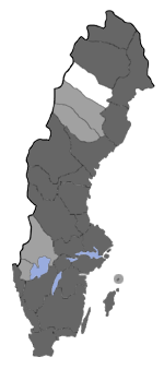 Distribution map - Eupithecia analoga