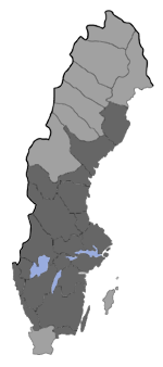 Distribution map - Eupithecia conterminata