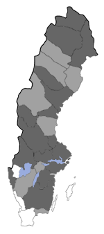 Distribution map - Eupithecia gelidata