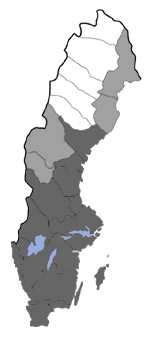 Distribution map - Eupithecia inturbata