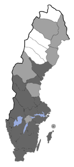 Distribution map - Eupithecia nanata