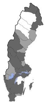 Distribution map - Eupithecia pygmaeata