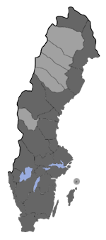 Distribution map - Eupithecia succenturiata
