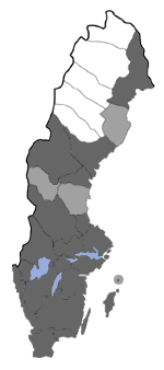 Distribution map - Eupithecia tenuiata