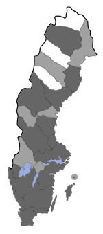 Distribution map - Glyphipterix bergstraesserella