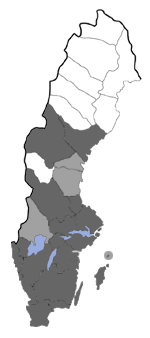 Distribution map - Glyphipterix simpliciella