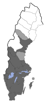 Distribution map - Hadena bicruris