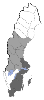 Distribution map - Hadena capsincola