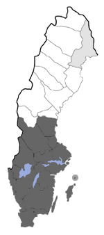 Distribution map - Idaea seriata