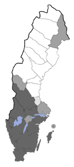 Distribution map - Incurvaria masculella