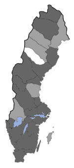 Distribution map - Incurvaria oehlmanniella