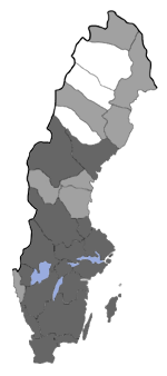 Distribution map - Lampronia corticella