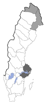 Distribution map - Lampronia redimitella