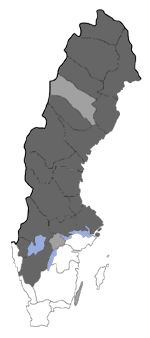 Distribution map - Lampronia rupella
