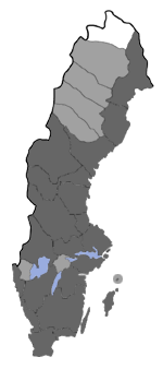 Distribution map - Lasionhada proxima