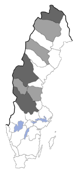 Distribution map - Lasionycta skraelingia