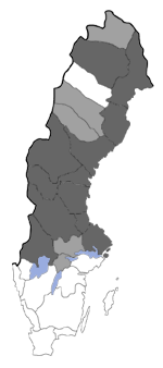 Distribution map - Lycaena helle