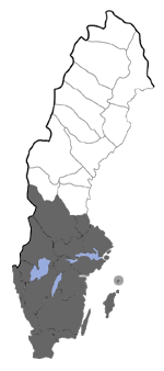 Distribution map - Melanchra persicariae