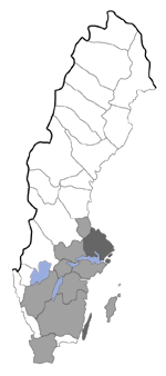 Distribution map - Metzneria santolinella
