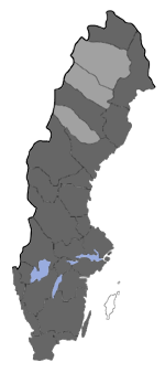 Distribution map - Micropterix aureatella