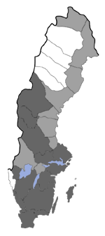 Distribution map - Micropterix mansuetella