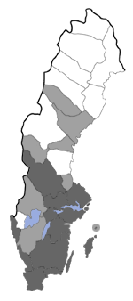 Distribution map - Nemapogon clematellus