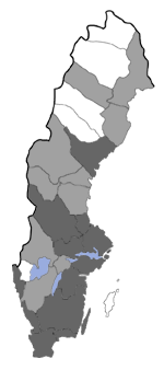 Distribution map - Nemapogon wolffiellus