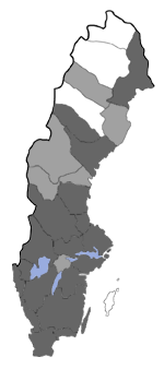 Distribution map - Nemaxera betulinella
