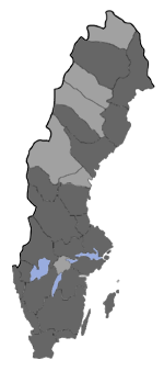 Distribution map - Phiaris palustrana
