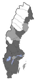Distribution map - Prochoreutis myllerana