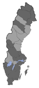 Distribution map - Pyla fusca