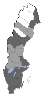 Distribution map - Roeslerstammia erxlebella